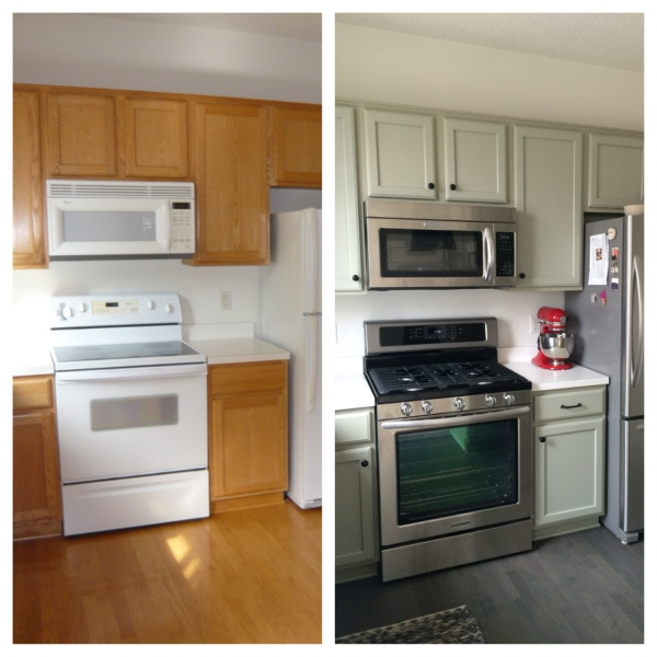 Painted Cabinets Refinishing: Minneapolis House Painter, Cabinet Refinishing